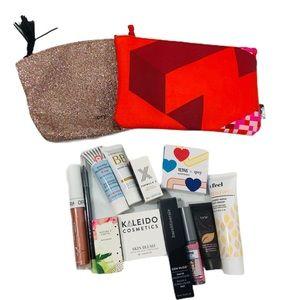 Makeup sample/ full size / 2 bags + 12 makeup